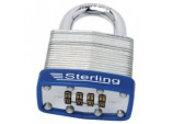 4-Dial Mid Security Combination Lock Laminated Padlock - 46mm