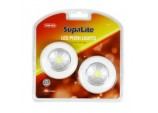 LED Push Light - Twin Pack