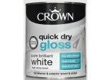Quick Dry Gloss 750ml - Pure Brilliant White
