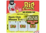 Quick Click Mouse Traps - 3 Pack