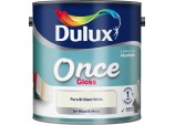 Once Gloss 2.5 Litre - Pure Brilliant White