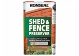 5 Litre Shed & Fence Preserver - Dark Brown