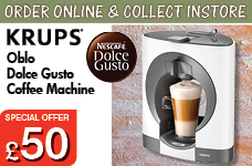 Oblo Dolce Gusto White – Now Only £50.00