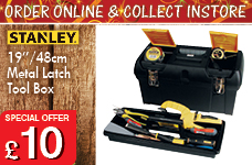 "19"" Tool Box – Now Only £10.00"