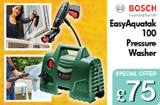 EasyAquatak 100 Pressure washer – Now Only £75.00