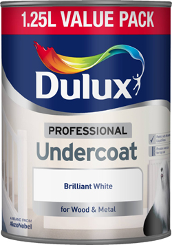 Professional Undercoat Brilliant White 1.25 Litre – Now Only £11.00