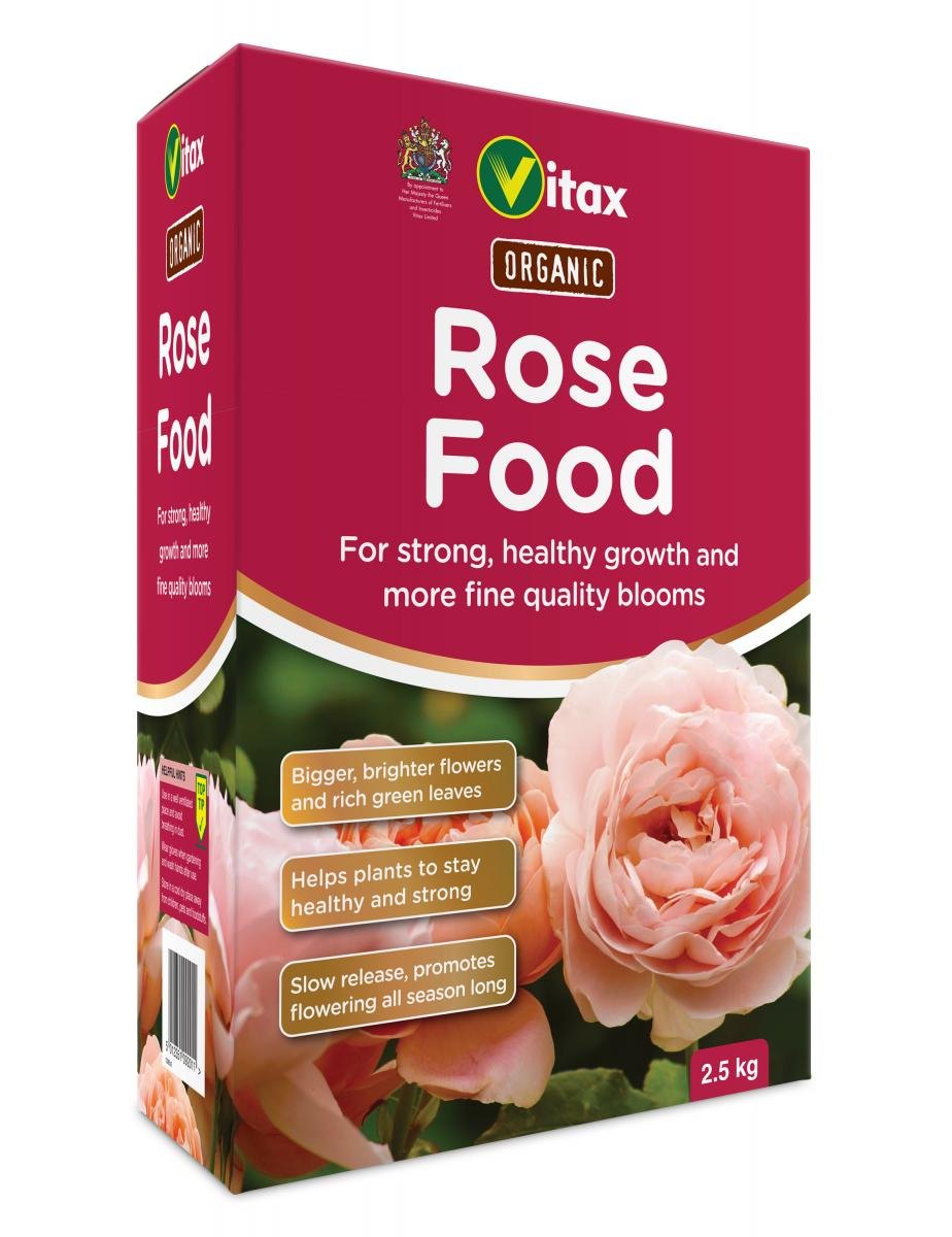 Organic Rose Food 2.5kg – Now Only £4.50