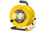 110V Twin Extension Cable Reel (25M)