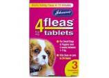 4fleas Tablets for Puppies & Small Dogs - 3 Treatment Pack
