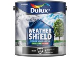 Weathershield Exterior Quick Dry Gloss 2.5L - Black
