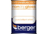 1.25 Litre Non Drip Gloss - Pure Brilliant White