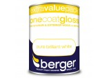 1.25 Litre One Coat Gloss - Pure Brilliant White