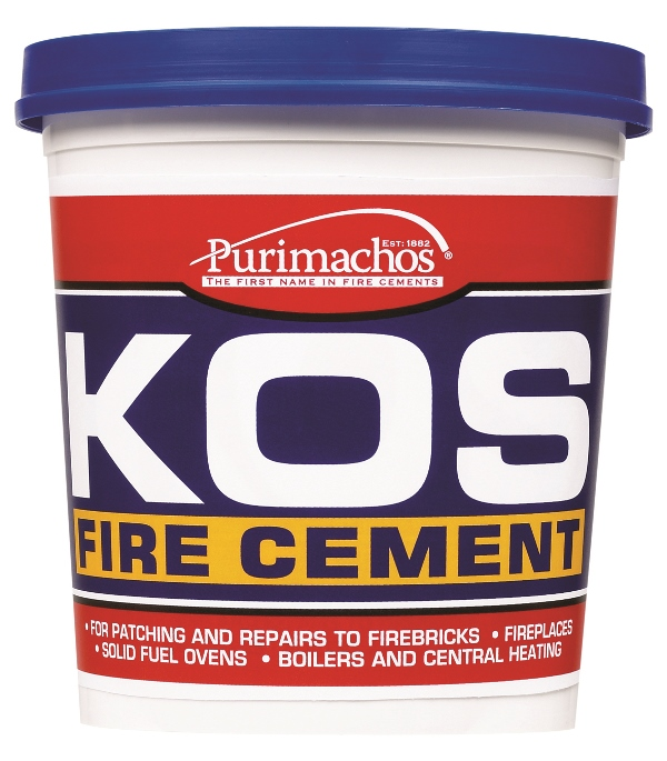 1Kg Black Kos Fire Cement – Now Only £6.00