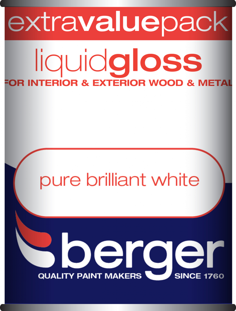 1.25 Litre Liquid Gloss - Pure Brilliant White – Now Only £10.00