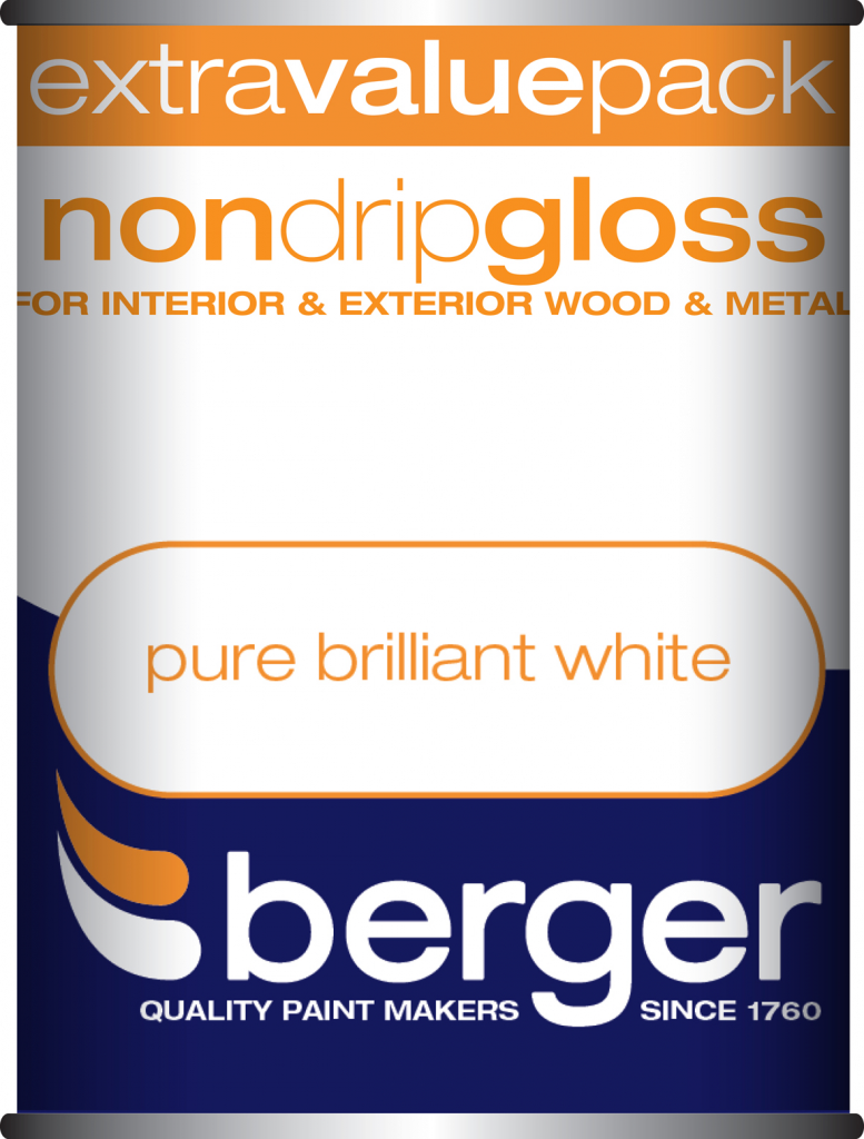 1.25 Litre Non Drip Gloss - Pure Brilliant White – Now Only £10.00
