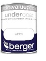 1.25 Litre Undercoat - White – Now Only £10.00