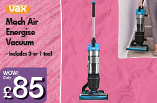 Mach Air Energise Vacuum – Now Only £85.00